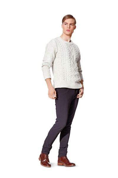 Jeans til mænd, smalle ben