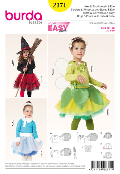 Heks, elver, is-prinsesse, fe