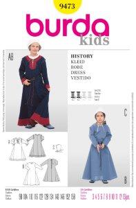 Historisk kjole. Burda 9473.