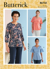 Top. Butterick 6732.