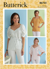 Top. Butterick 6733.