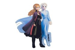 Anna og Elsa strygemotiv ca. 8 x 5 cm