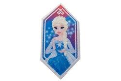 Elsa strygemotiv pentagon ca. 8 x 4 cm