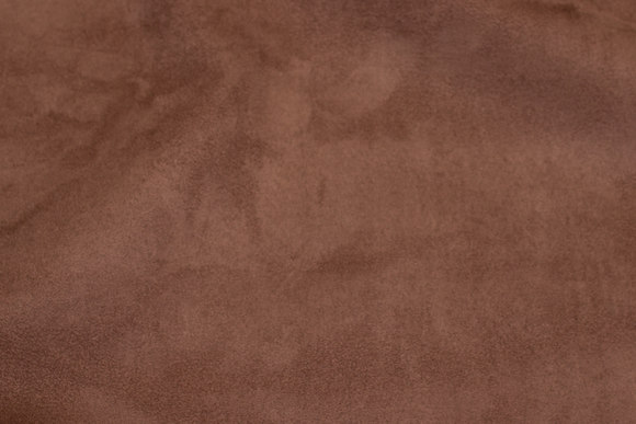 Imiteret møbelruskind i choko-brun