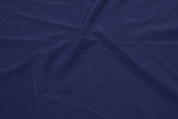 Kjole-polyesterstretch i marineblå