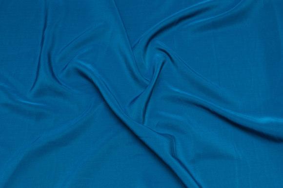 Micro silk-look i mørk petrol-grøn