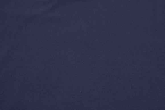 Mørk marineblå stretch-crepe