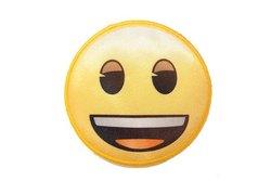 Smiley strygemotiv ca. 6,5 cm