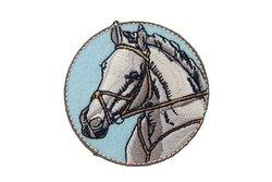 Stryge-motiv med hest ca. 6 cm