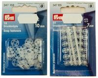 Tryklåse i plastic i 10 mm eller 7 mm