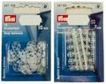 Tryklåse i plastic i 10 mm eller 7 mm.