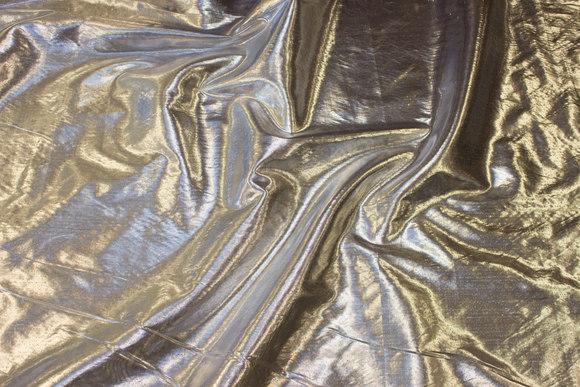 Tyndt sølv-dekorationsstof