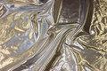 Tyndt sølv-dekorationsstof.