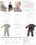 Sød og simpel bodysuit med praktisk lukning. Enkelt snit og god pasform. Kan varieres til både hverdagstøj, undertøj og nattøj. Skøn heldragt, der er super brugbar og rar for børnene at have på. Praktisk lukning med trykknapper i benene og nem at få af og på. Kan nemt varieres til andet godt babytøj. Lækker i stof med dejlige striber og sjove print. Miks forskellige farver og leg med pynten.