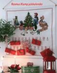 Hvid julepakkekalender med Rasmus Klump. 349 kr.