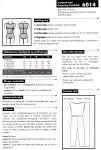 Super smart enkel buksedragt, falder flot i bløde stoffer Tip - modellen er også flot med et bredt bælte i taljen eller med en tætsiddende langærmet t-shirt under.