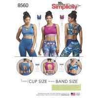 Strik Sports bh. Simplicity 8560.