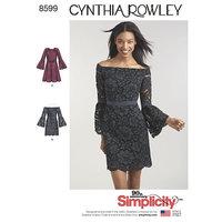 Cynthia Rowley Kjoler. Simplicity 8599.