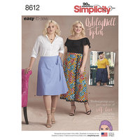 Slå om nederdele, Ashley Nell Tipton. Simplicity 8612.