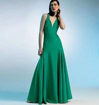 Kjole - tilpasset form. Vogue 8814.
