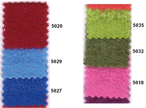 Antipiling fleece i mange farver fx rød, lyseblå, blå, grøn