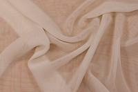 Chiffon polyester i off-white og mange andre farver