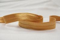 Elastikkantebånd okker 2 cm. br.