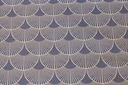 Imprægneret textildug i dueblå