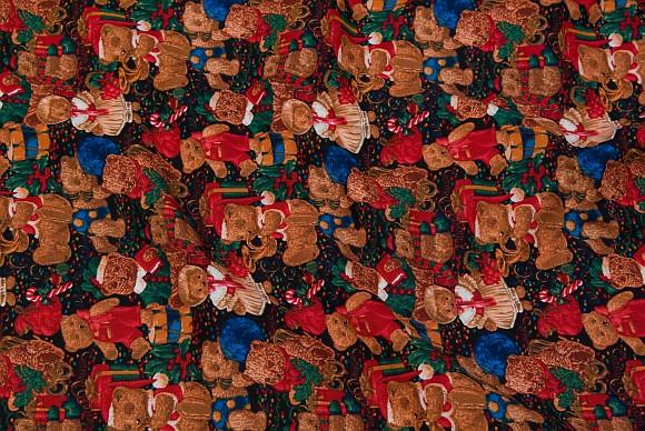Julebomuld med bamser