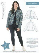 Quiltet jakke. Minikrea 70575.