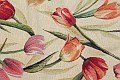 Møbelvare med et design, der blander det klassiske med det moderne i behagelige farver.Tulipanerne er ca. 20 cm. lange.