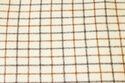 Lys brun/mørk brun tern ca. 3 x 2 cm 450g/m2.