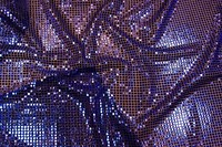 Pallietstof i blå/lilla i let kvalitet