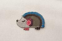 Pindsvin strygemærke 5x3cm