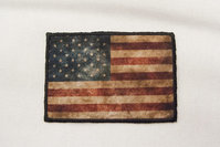 Rustikt amerikansk flag 5x8cm