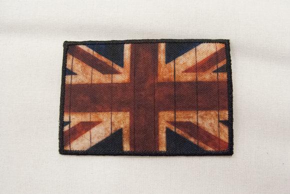Rustikt britisk flag 5x8cm