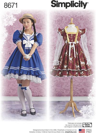Lolita kostume kjoler