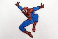Spiderman springende strygemærke 9x7cm