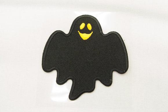 Spøgelses strygemærke ca 7x7cm