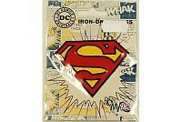 Superman symbol strygemærke 7 cm