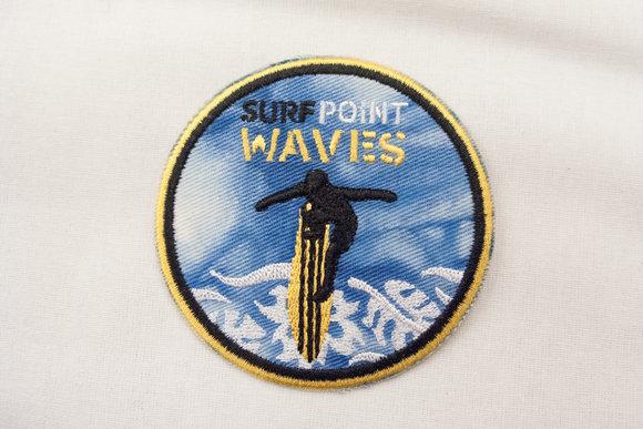 Surf waves strygemærke Ø7cm