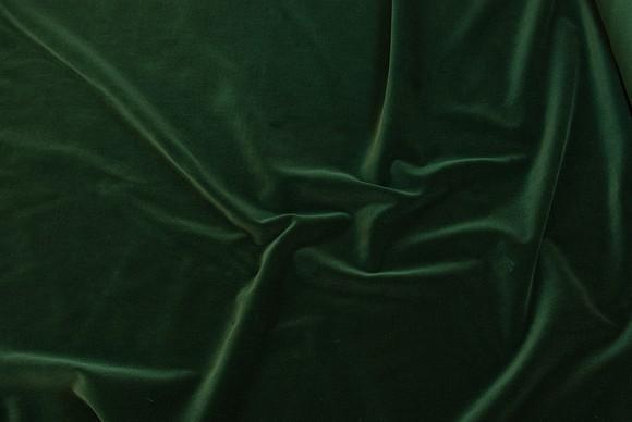 Velour i klassisk vævet kvalitet i mørk grøn