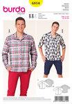 Herre bluse/skjorte, afslappet model