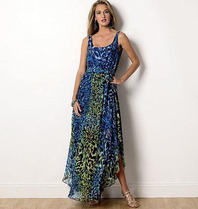 Sommerlig kjole