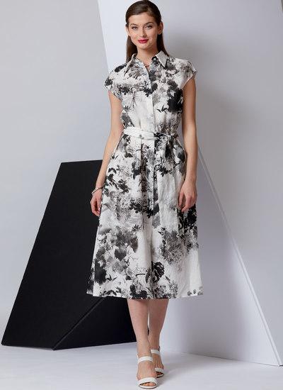 Dress and Belt, Vogue Easy Options