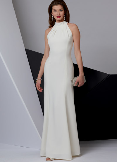 Special Occasion Dress, Very Easy Vogue