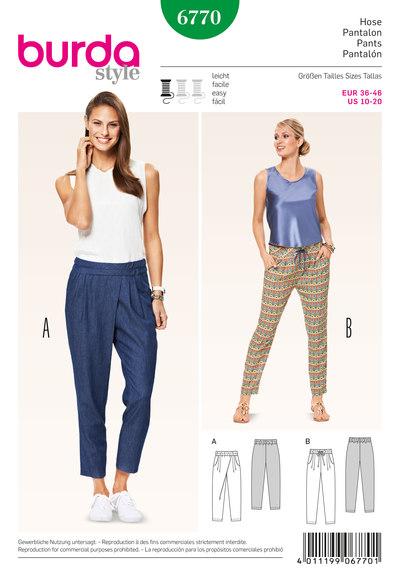 Bukser, elastiktalje