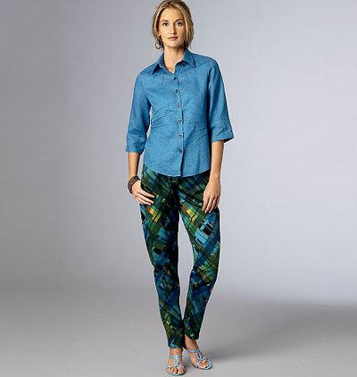 Bukser med tapering
