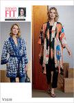 Vogue 1610. Kimono og bælte, Sandra Betzina.