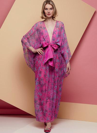 Special Occasion Dress and Sash, Zandra Rhodes